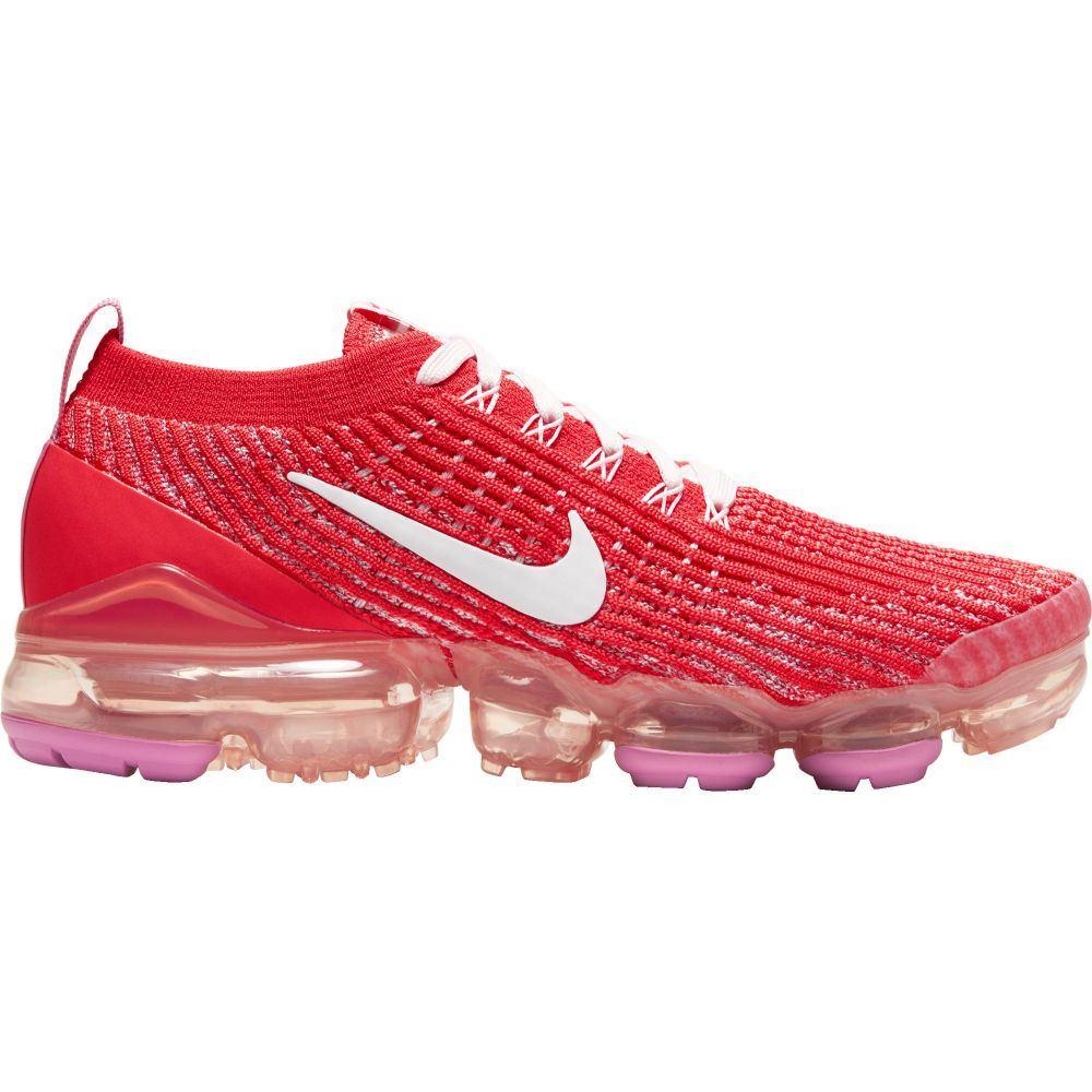 ナイキ Nike レディース シューズ・靴 【Air VaporMax Flyknit 3 Shoes】Track Red/White