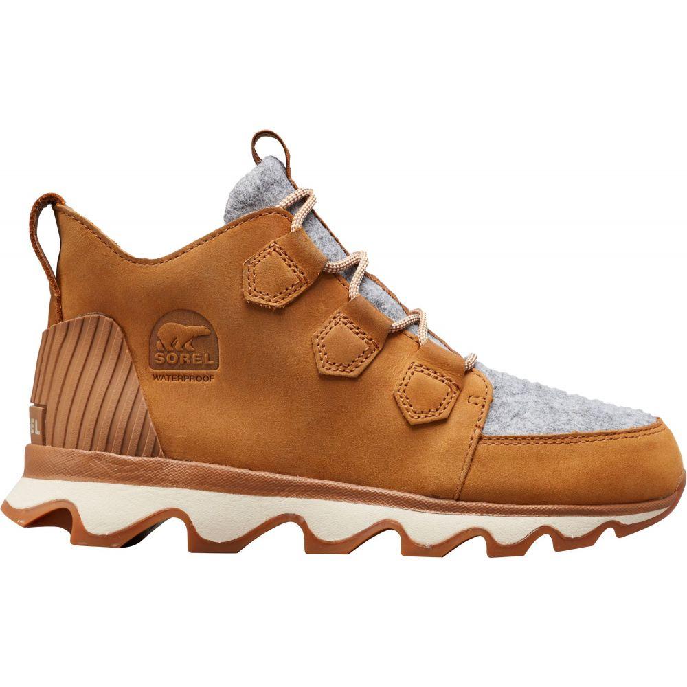 ソレル SOREL レディース シューズ・靴 【Kinetic 100g Waterproof Winter Shoes】Camel Brown/Black