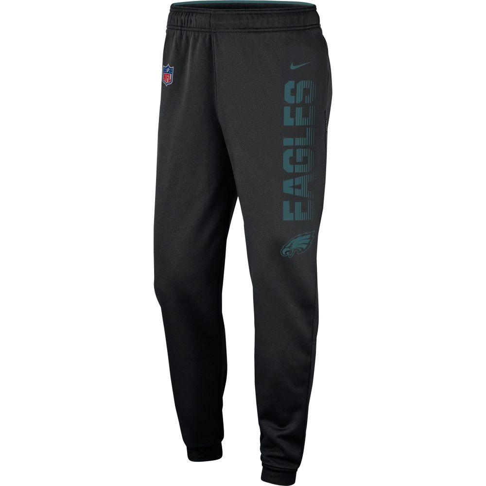 ナイキ Nike メンズ フィットネス・トレーニング ボトムス・パンツ【Philadelphia Eagles Sideline Therma-FIT Performance Black Pants】