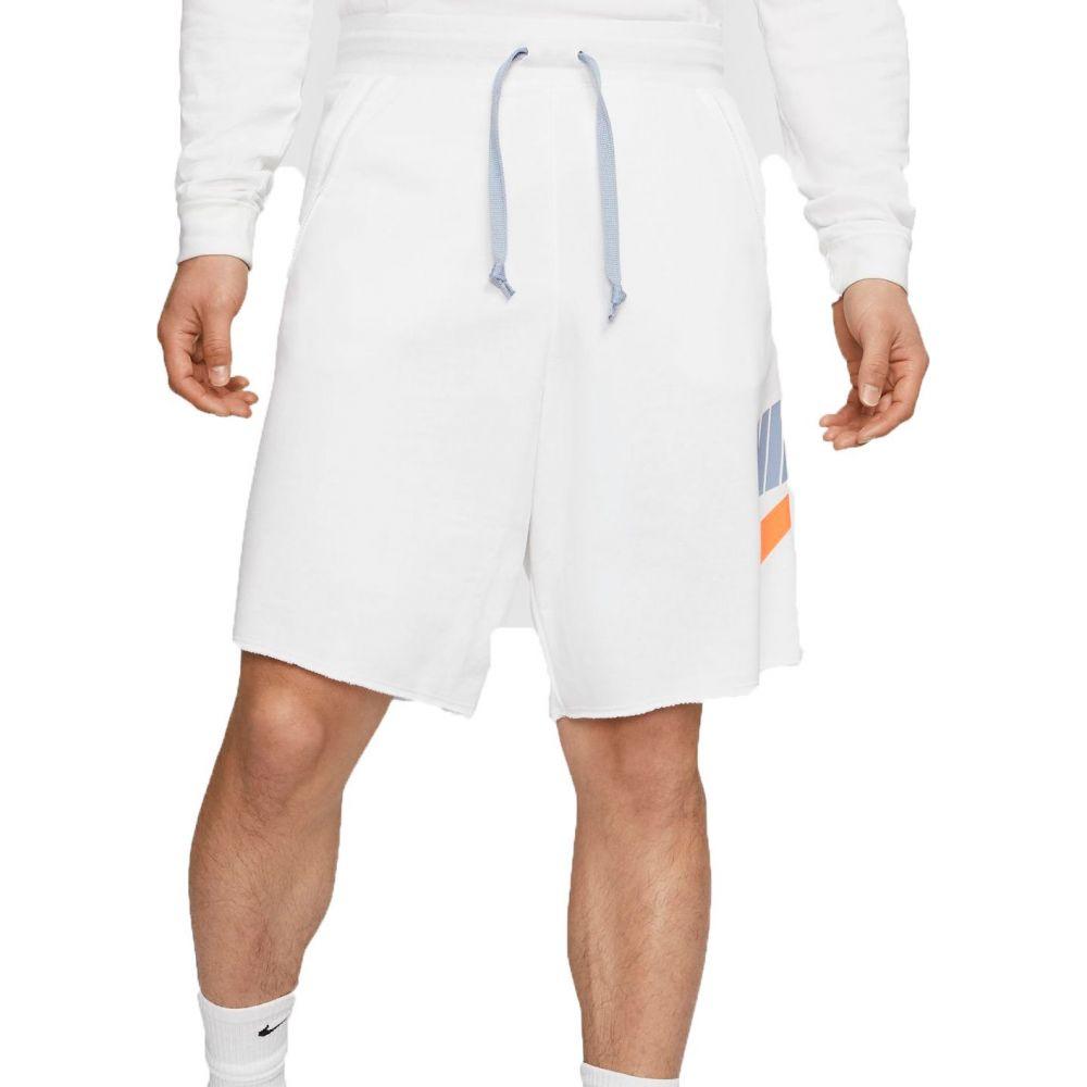ナイキ Nike メンズ フィットネス・トレーニング ボトムス・パンツ【Sportswear Alumni Shorts (Regular and Big & Tall)】White/Hyper Crimson