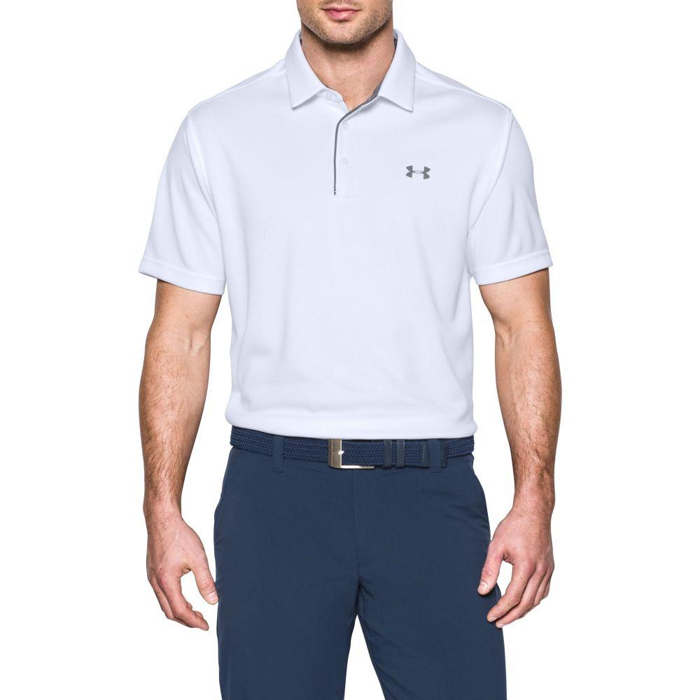 アンダーアーマー Under Armour メンズ ゴルフ トップス【Tech Golf Polo】White