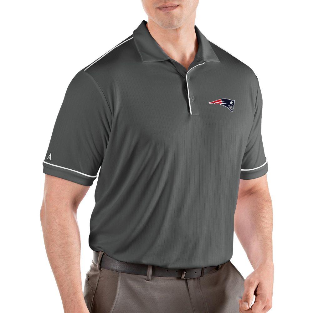 アンティグア Antigua メンズ ポロシャツ トップス【New England Patriots Salute Grey Polo】