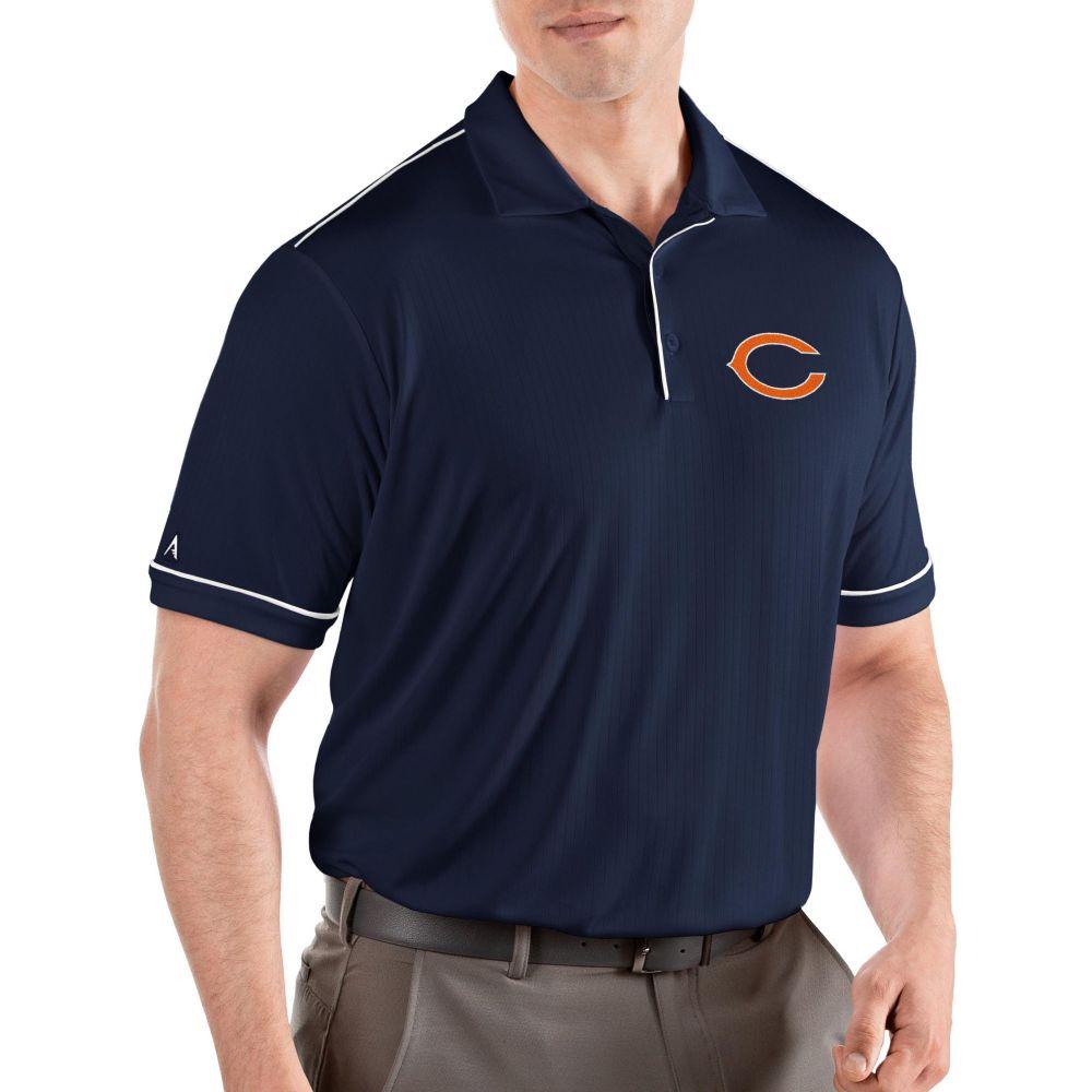 アンティグア Antigua メンズ ポロシャツ トップス【Chicago Bears Salute Navy/White Polo】