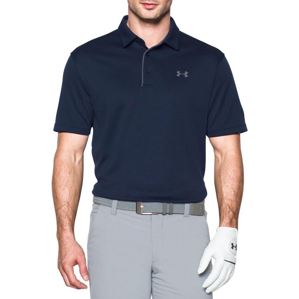 アンダーアーマー Under Armour メンズ ゴルフ トップス【Tech Golf Polo】Midnight Navy