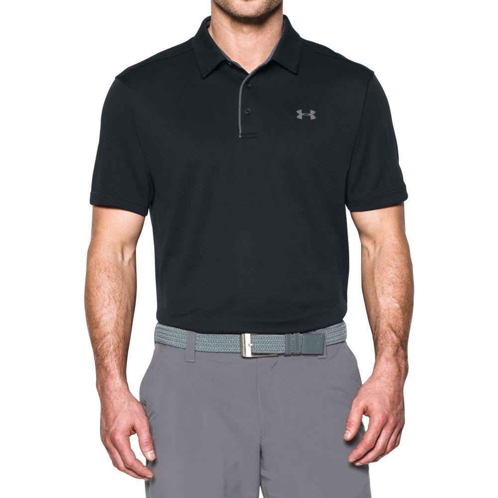 アンダーアーマー Under Armour メンズ ゴルフ トップス【Tech Golf Polo】Black
