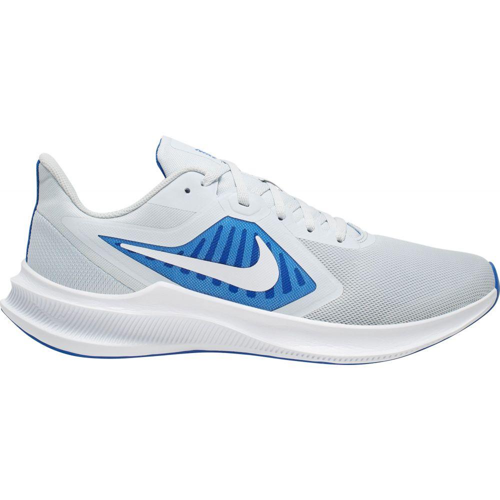 ナイキ Nike メンズ ランニング・ウォーキング シューズ・靴【Downshifter 10 Running Shoes】Platinum/White