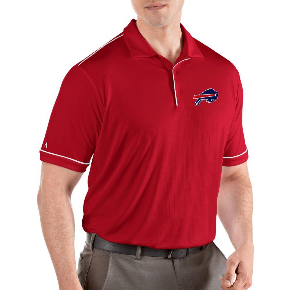 アンティグア Antigua メンズ ポロシャツ トップス【Buffalo Bills Salute Red Polo】