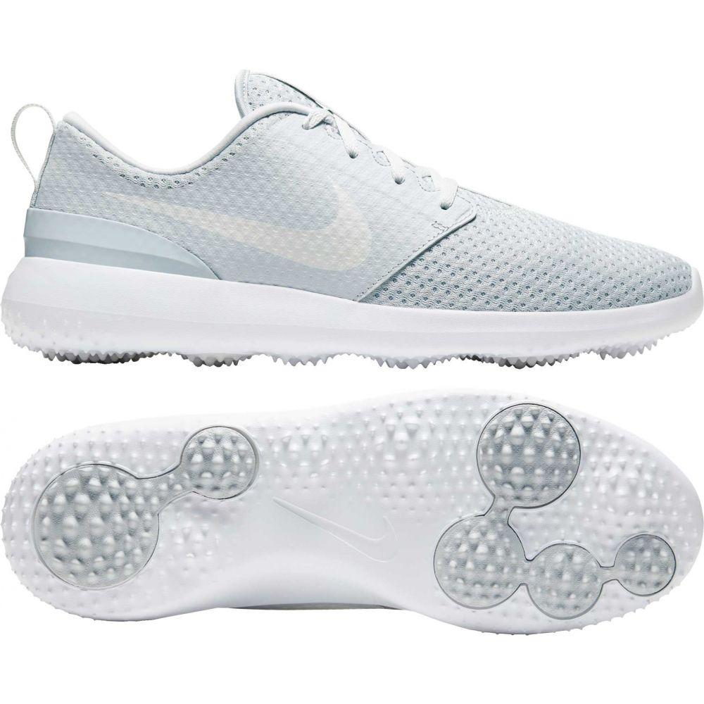ナイキ Nike メンズ ゴルフ シューズ・靴【2020 Roshe G Golf Shoes】Platinum/White/White