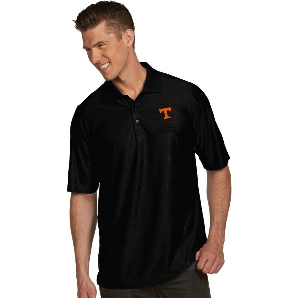 アンティグア Antigua メンズ ポロシャツ トップス【Tennessee Volunteers Black Illusion Polo】