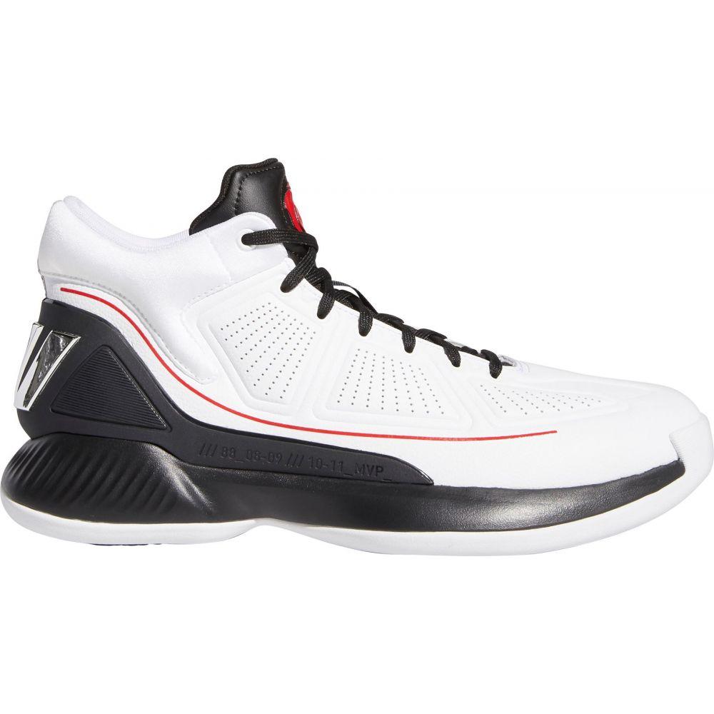 アディダス adidas メンズ バスケットボール シューズ・靴【D Rose 10 Basketball Shoes】White/Blk/Scarlet