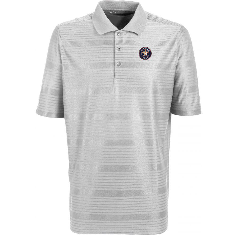 アンティグア Antigua メンズ ポロシャツ トップス【Houston Astros Illusion White Striped Performance Polo】