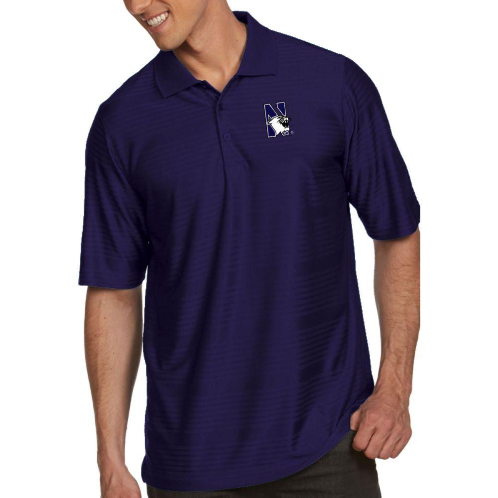 アンティグア Antigua メンズ ポロシャツ トップス【Northwestern Wildcats Purple Illusion Polo】