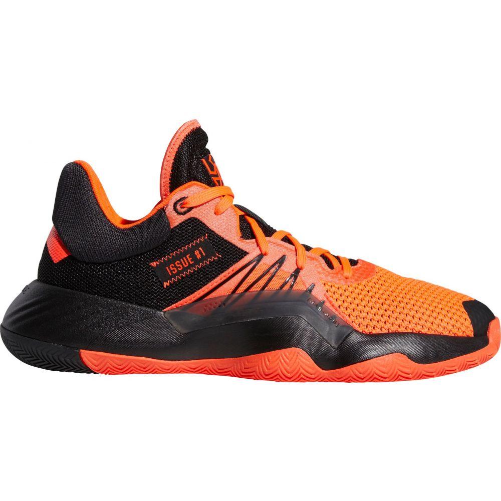 アディダス adidas メンズ バスケットボール シューズ・靴【D.O.N. Issue #1 Basketball Shoes】Blk/Solar Red
