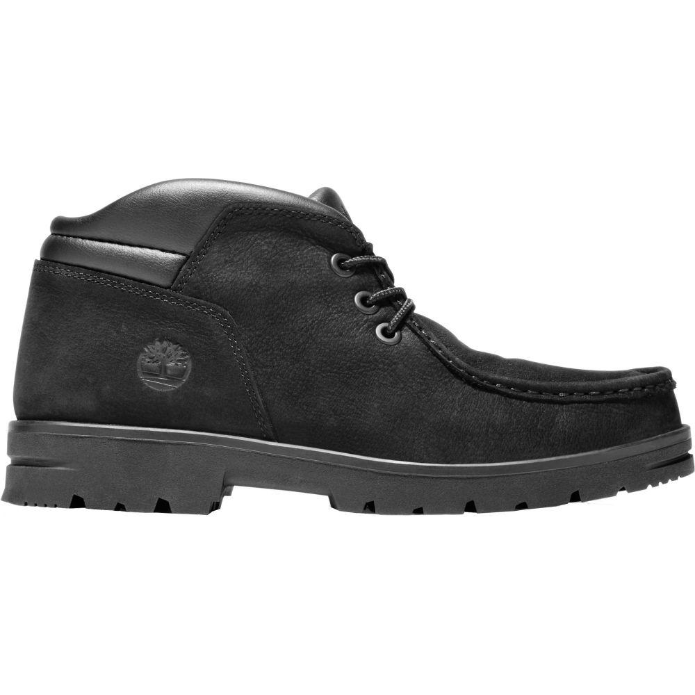 ティンバーランド Timberland メンズ ブーツ シューズ・靴【Newtonbrook Moc Toe Chukka Boots】Black Nubuck