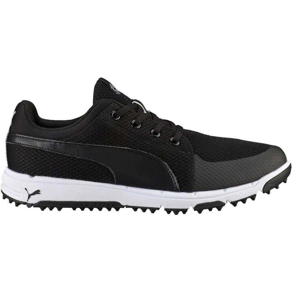 プーマ PUMA メンズ ゴルフ シューズ・靴【Grip Sport Tech Golf Shoes】Black/White