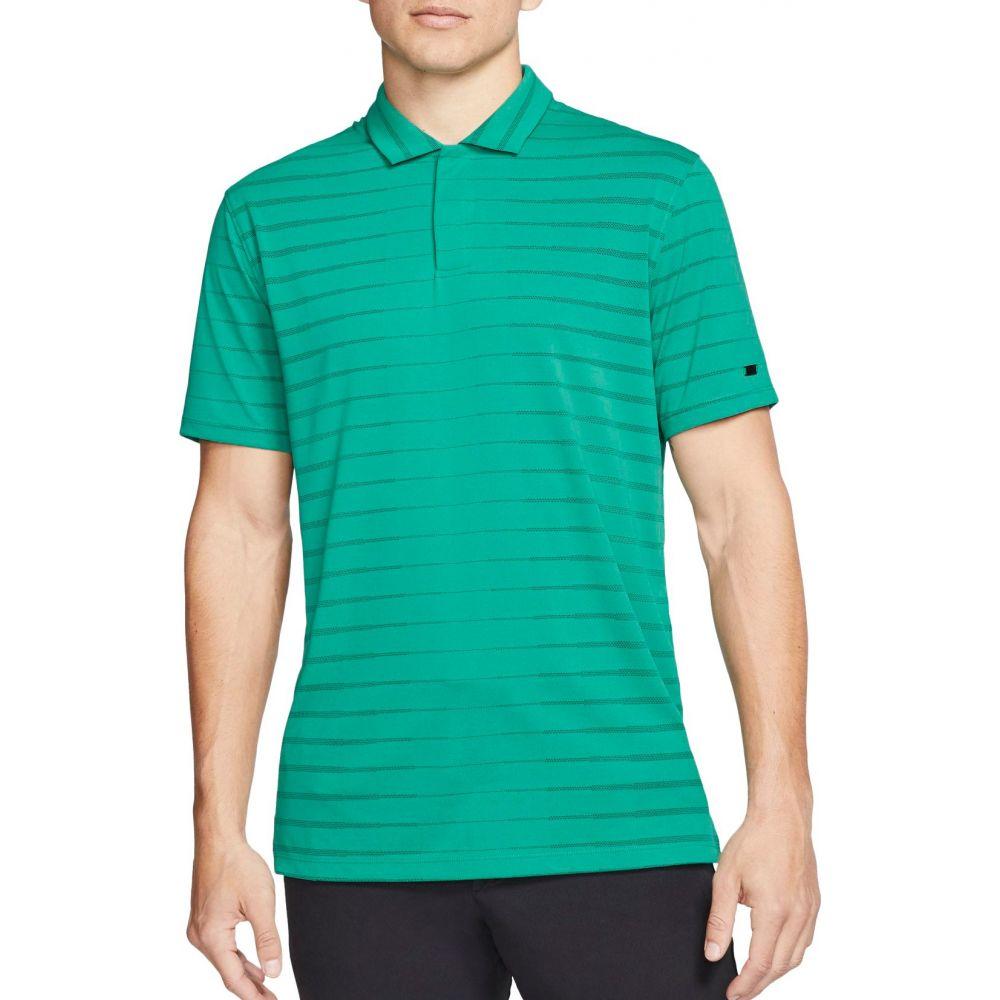 ナイキ Nike メンズ ゴルフ トップス【Tiger Woods Novelty Golf Polo】Neptune Green
