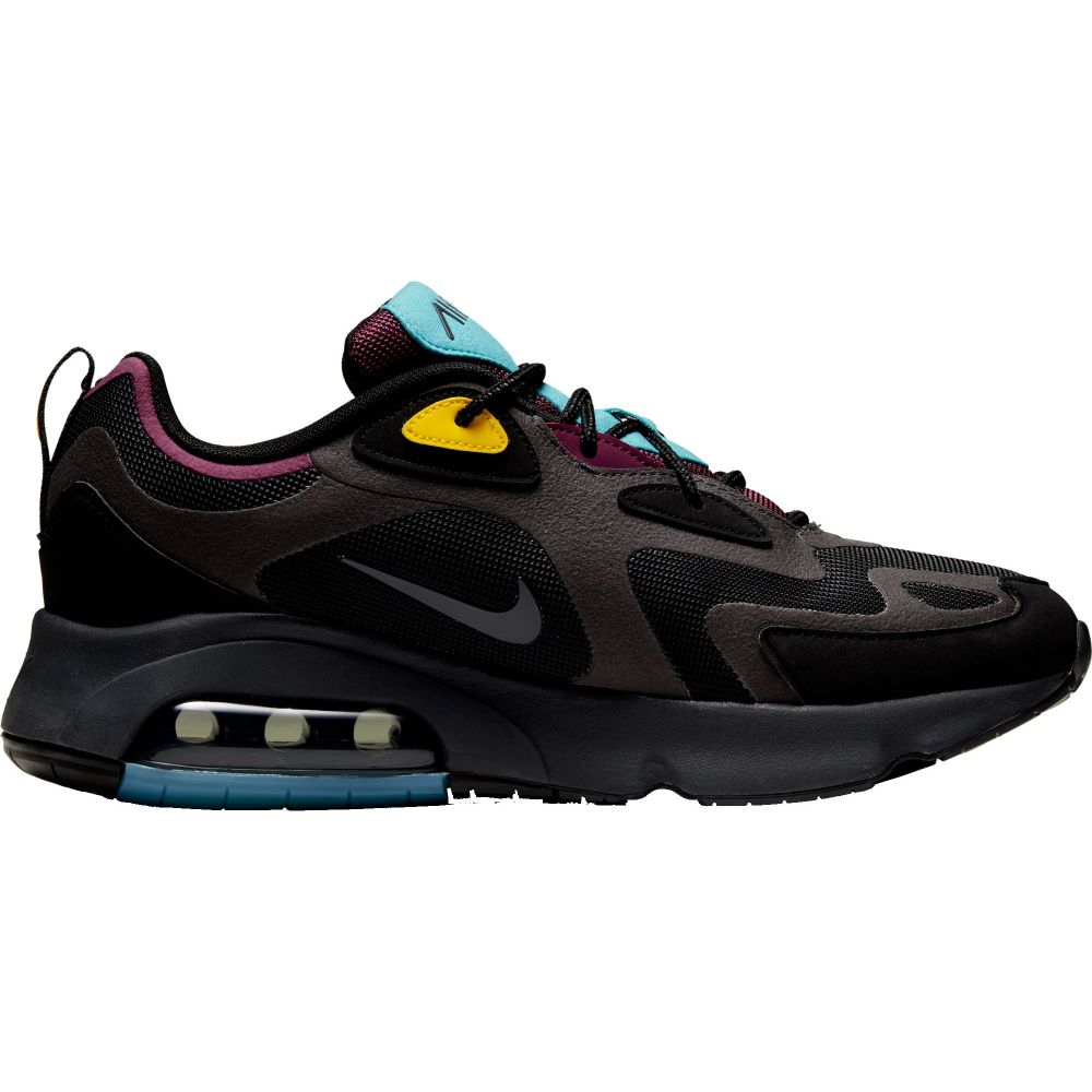 ナイキ Nike メンズ シューズ・靴 【Air Max 200 Shoes】Black/Teal/Gold