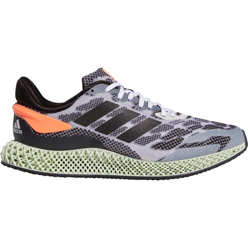 アディダス adidas メンズ ランニング・ウォーキング シューズ・靴【4D Run 1.0 Parley Running Shoes】White/Black/Coral