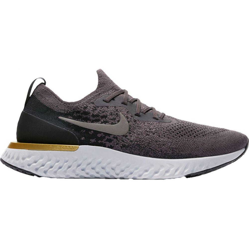 ナイキ Nike メンズ ランニング・ウォーキング シューズ・靴【Epic React Flyknit Running Shoes】Grey/Black/Grey