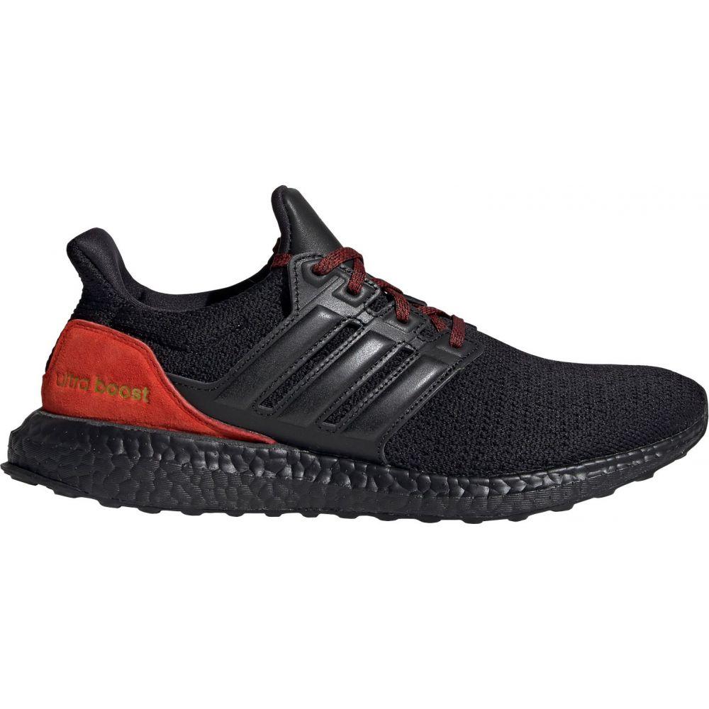 アディダス adidas メンズ ランニング・ウォーキング シューズ・靴【Ultraboost DNA Running Shoes】Black/Black/Red