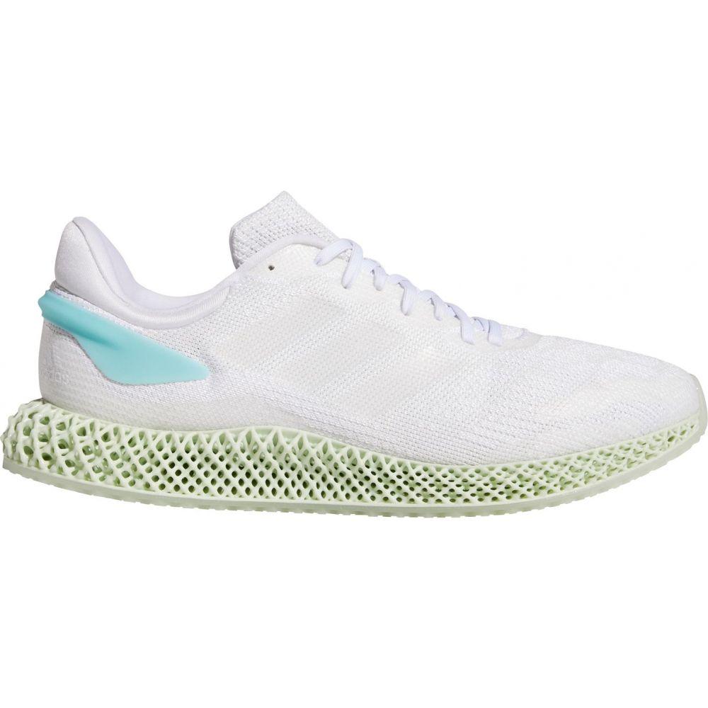 アディダス adidas メンズ ランニング・ウォーキング シューズ・靴【4D Run 1.0 Parley Running Shoes】White/Blue