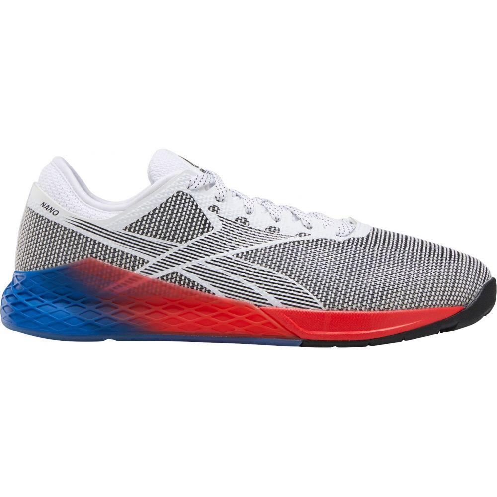 リーボック Reebok メンズ フィットネス・トレーニング シューズ・靴【Nano 9 Training Shoes】White/Black/Blue