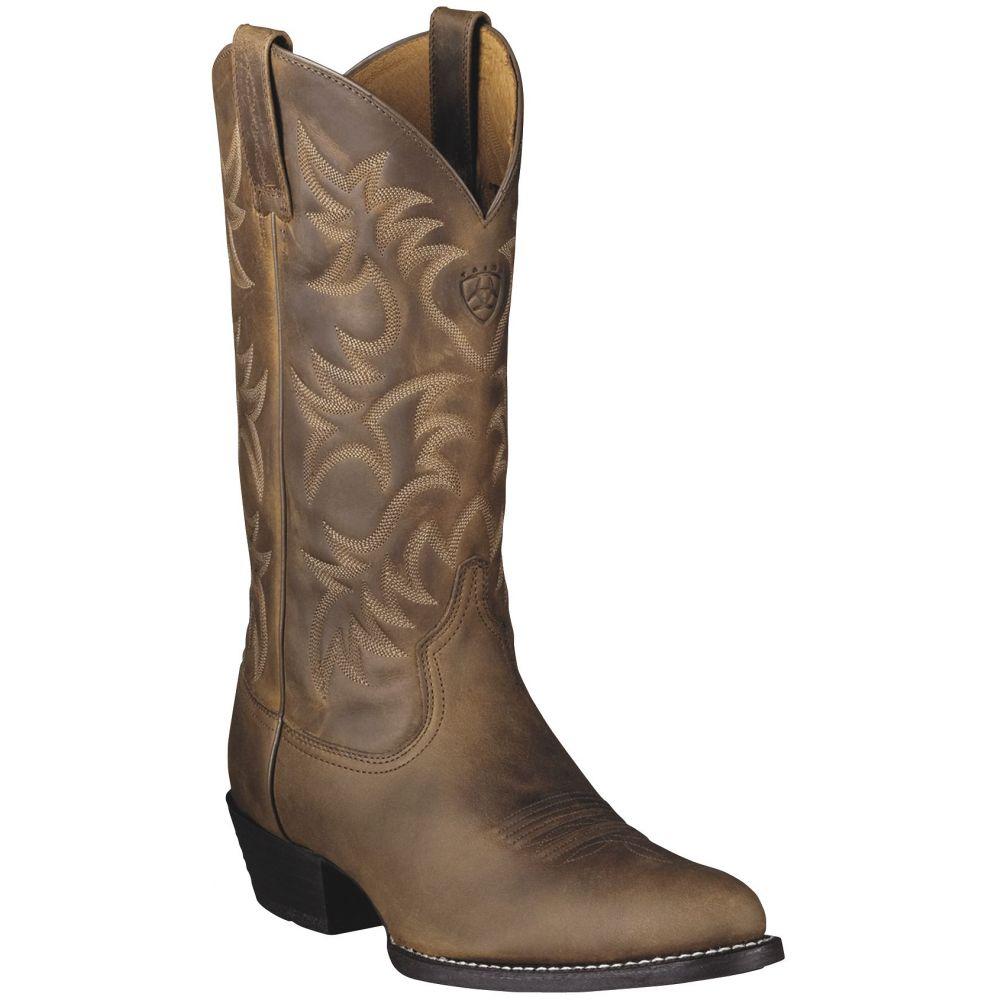 アリアト Ariat メンズ ブーツ シューズ・靴【Heritage 13 Western Boots】Distressed Brown