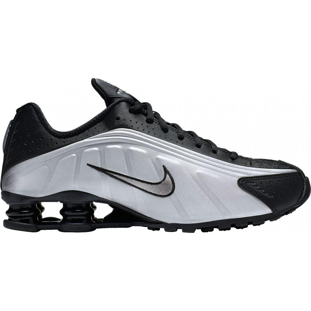 ナイキ Nike メンズ スニーカー シューズ・靴【Shox R4 Shoes】Black/Metallic Silver
