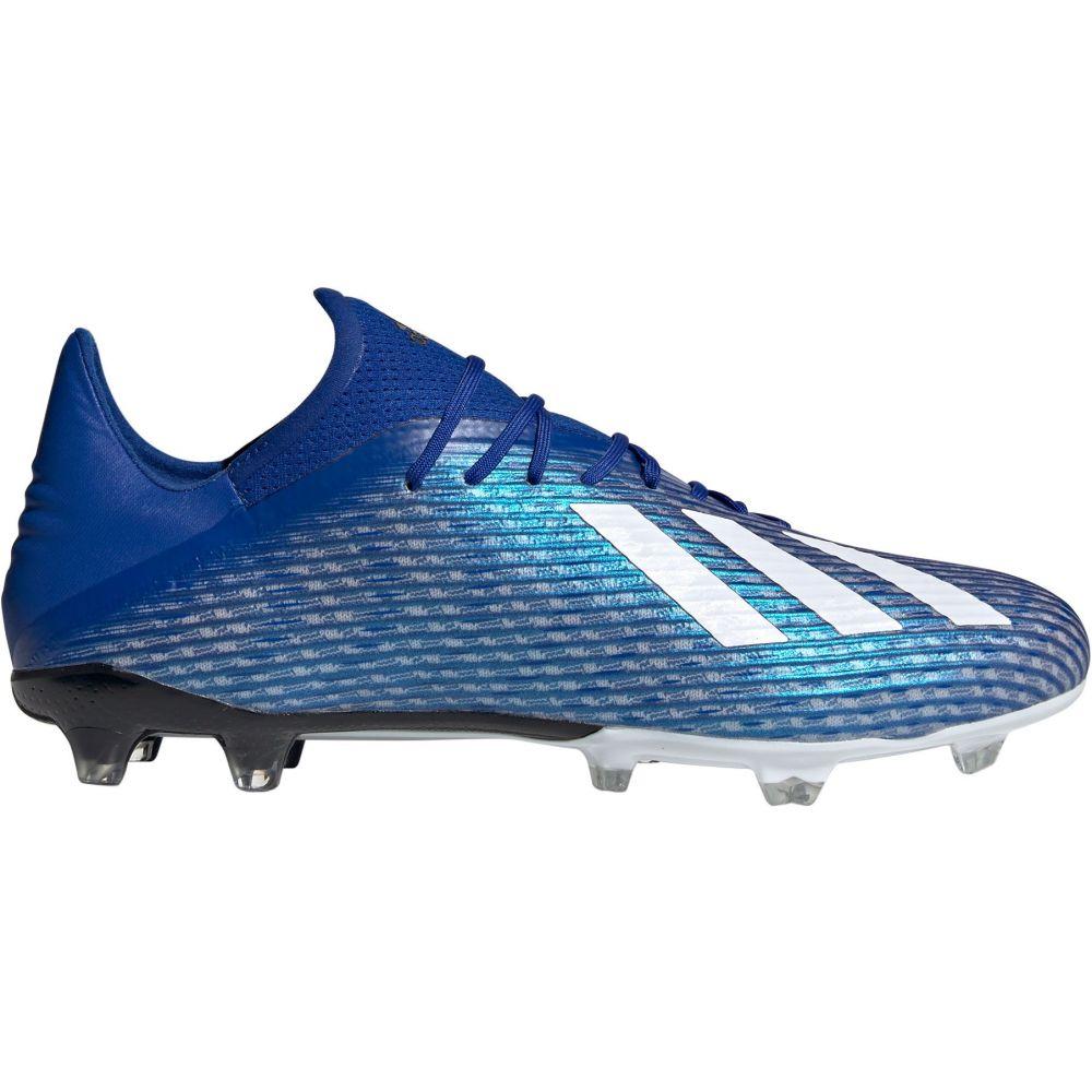 アディダス adidas メンズ サッカー シューズ・靴【X 19.2 FG Soccer Cleats】Blue/White