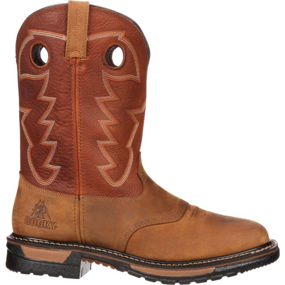 ロッキー Rocky メンズ ブーツ シューズ・靴【Original Ride 11 Waterproof Western Boots】Tan/Ochre