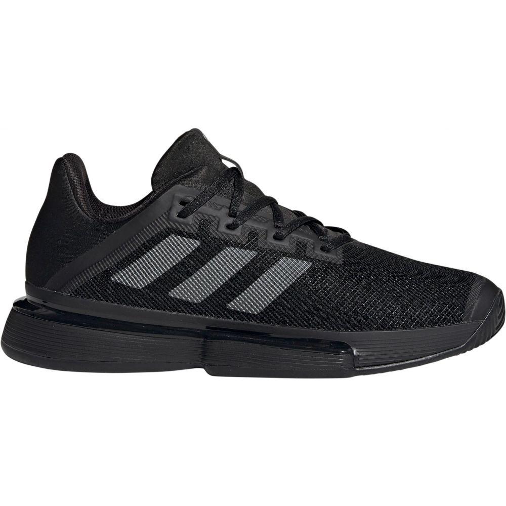 アディダス adidas メンズ テニス シューズ・靴【SoleMatch Bounce Tennis Shoes】Black