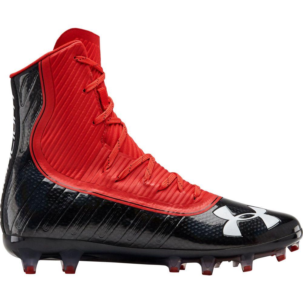 アンダーアーマー Under Armour メンズ アメリカンフットボール シューズ・靴【Highlight MC Football Cleats】Red/Black