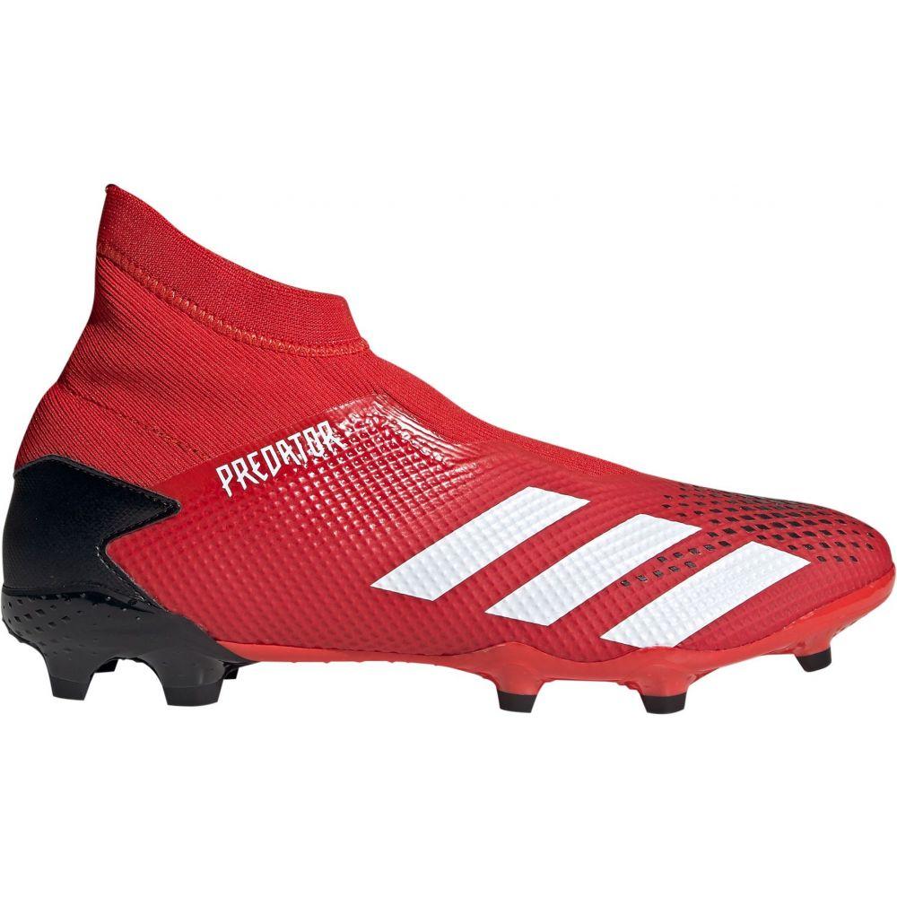 アディダス adidas メンズ サッカー シューズ・靴【Predator 20.3 FG Laceless Soccer Cleats】Red/Black