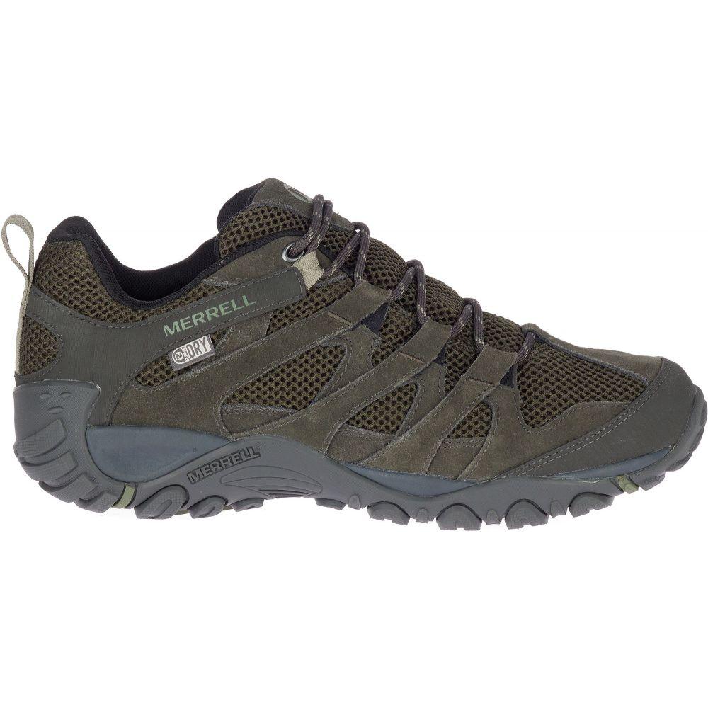 メレル Merrell メンズ ハイキング・登山 シューズ・靴【Alverstone Waterproof Hiking Shoes】Olive