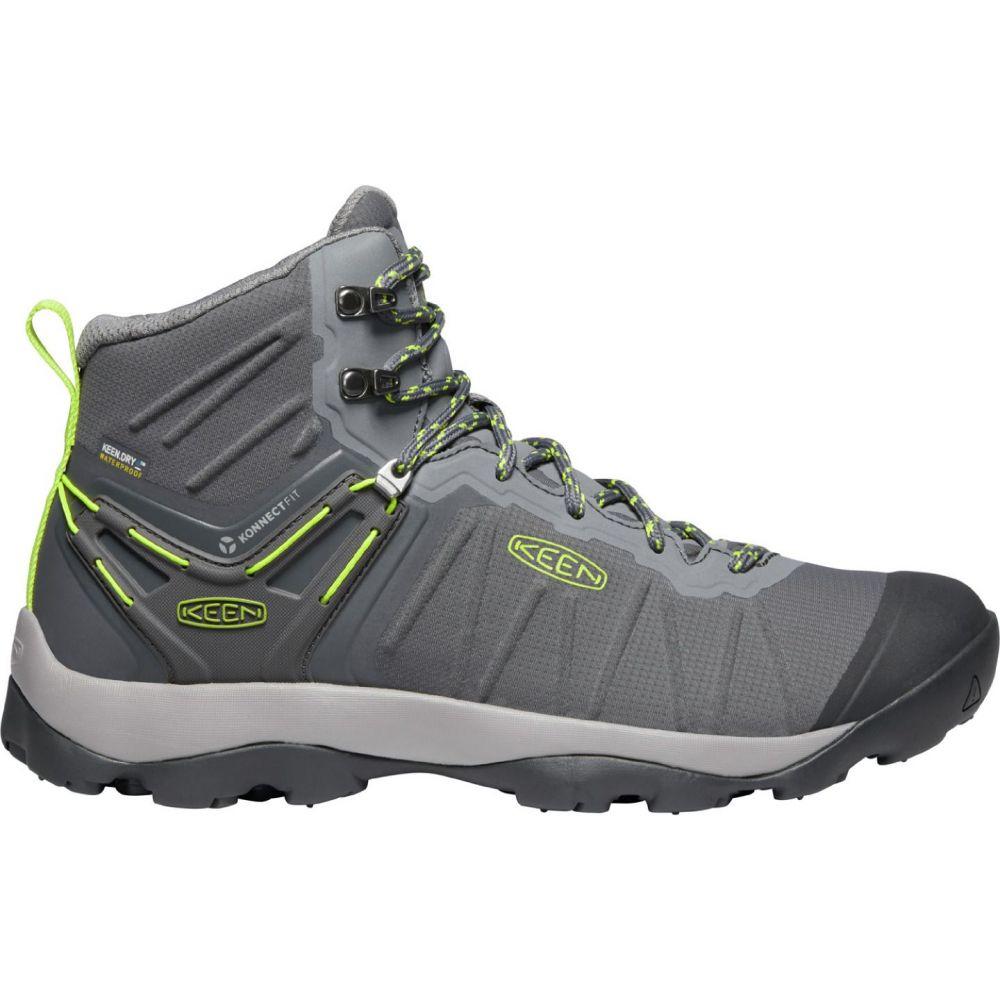 キーン Keen メンズ ハイキング・登山 シューズ・靴【KEEN Venture Mid Waterproof Hiking Boots】Magnet/Chartreuse