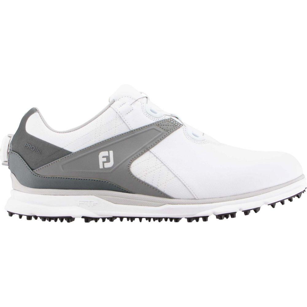 フットジョイ FootJoy メンズ ゴルフ シューズ・靴【2020 Pro/SL BOA Golf Shoes】White/Grey