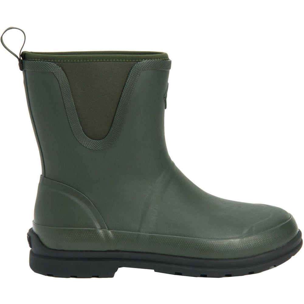 マックブーツ Muck Boots メンズ レインシューズ・長靴 シューズ・靴【Originals Pull On Mid Rain Boots】Moss