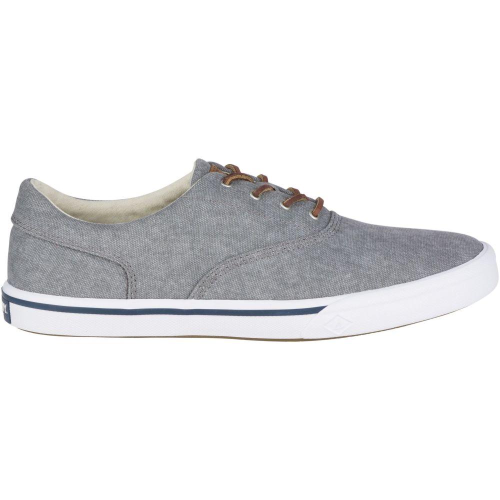 スペリー Sperry Top-Sider メンズ シューズ・靴 【Sperry Striper II Salt Washed CVO Casual Shoes】Grey