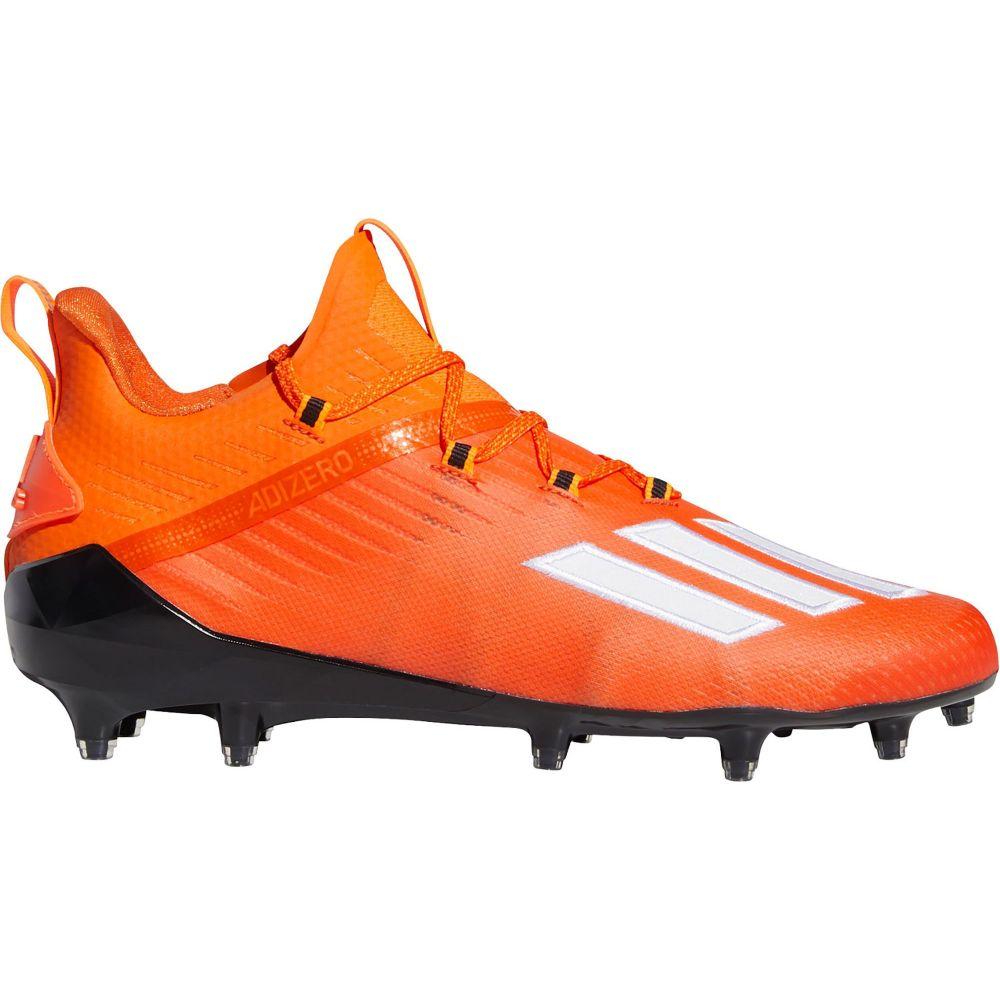 アディダス adidas メンズ アメリカンフットボール シューズ・靴【adizero Football Cleats】Orange/Black