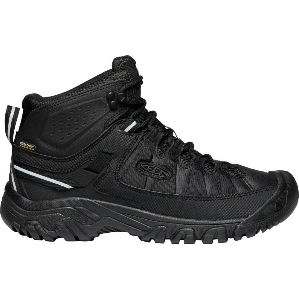 キーン Keen メンズ ハイキング・登山 シューズ・靴【KEEN Targhee EXP Mid Waterproof Hiking Boots】Black/Black