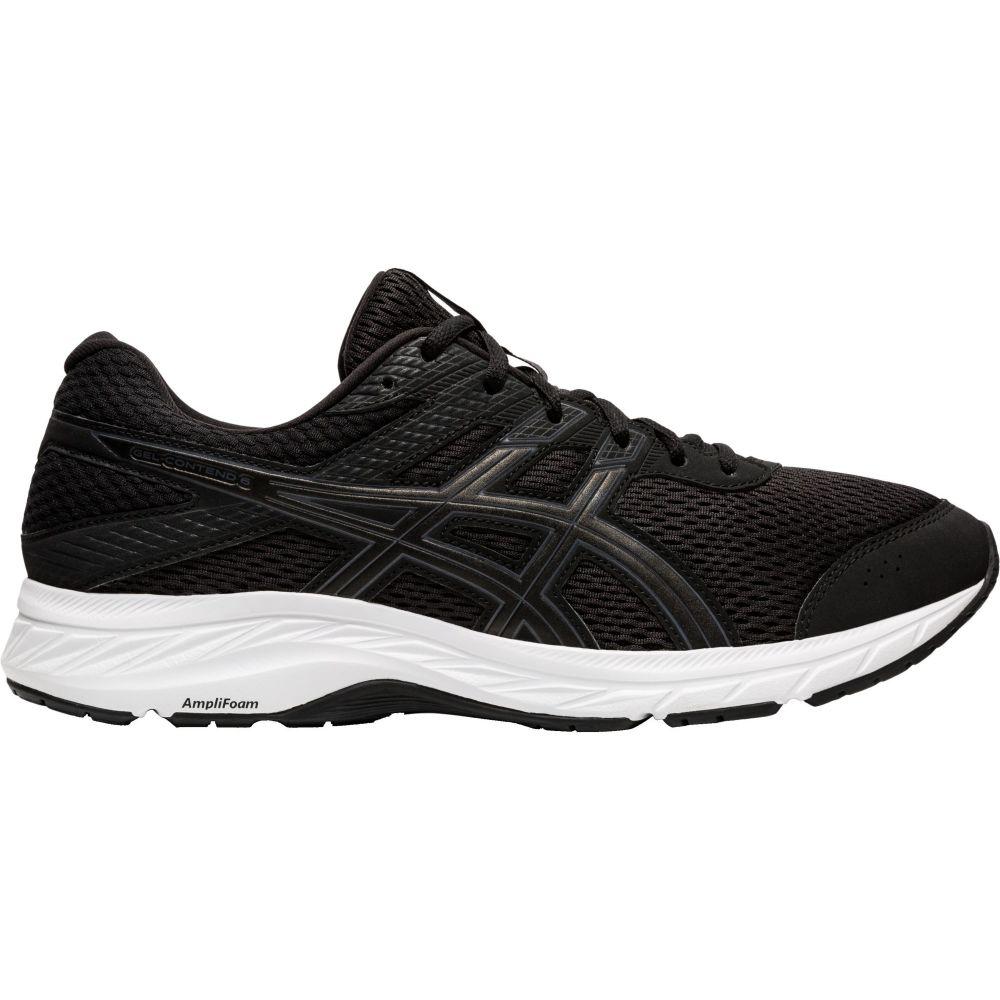 アシックス ASICS メンズ ランニング・ウォーキング シューズ・靴【GEL-Contend 6 Running Shoes】Black/Grey