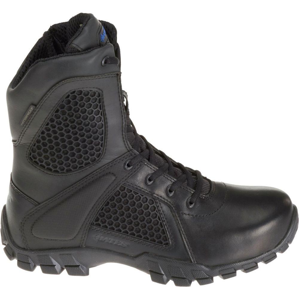 ベイツ Bates メンズ ブーツ シューズ・靴【Strike 8 Waterproof Side Zip Work Boots】Black