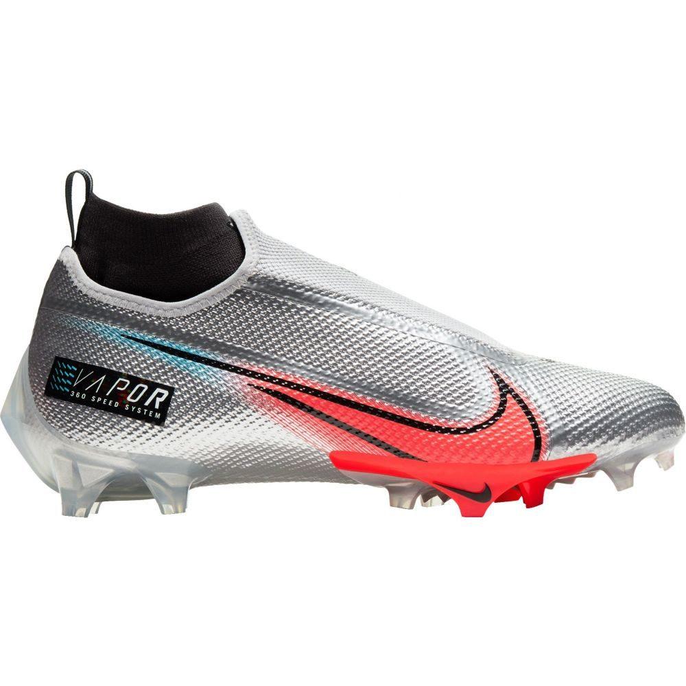 ナイキ Nike メンズ アメリカンフットボール シューズ・靴【Vapor Edge Pro 360 PRM Football Cleats】Silver/Red
