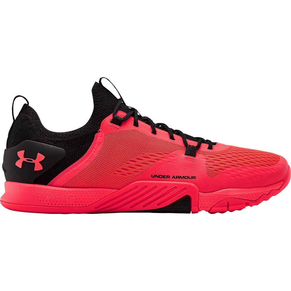 アンダーアーマー Under Armour メンズ フィットネス・トレーニング シューズ・靴【TriBase Reign 2 Training Shoes】Red/Black