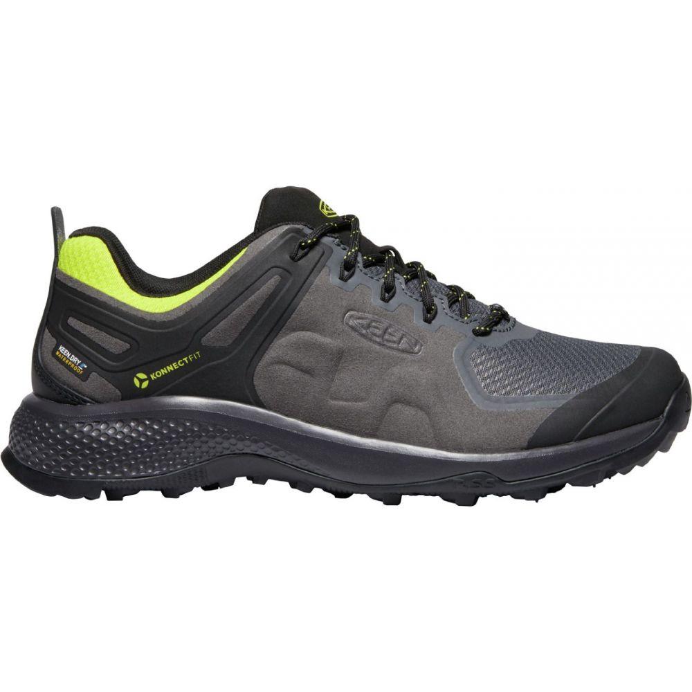 キーン Keen メンズ ハイキング・登山 シューズ・靴【KEEN Explore Waterproof Hiking Shoes】Magnet/Bright Yellow