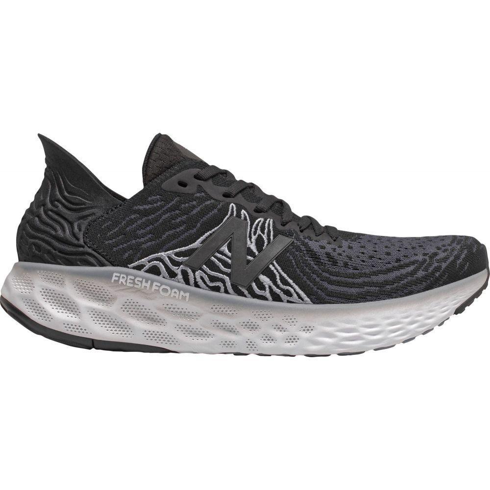ニューバランス New Balance メンズ ランニング・ウォーキング シューズ・靴【1080v10 Running Shoes】Black/Steel