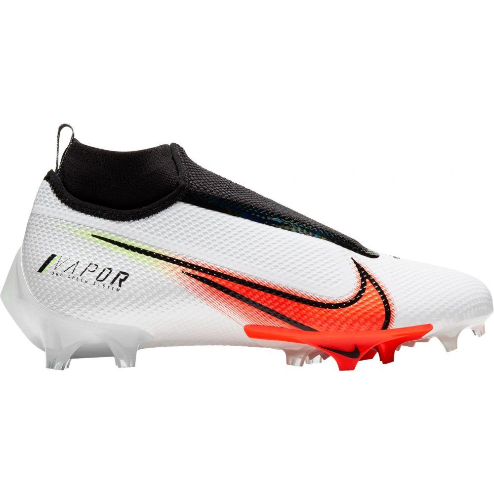 ナイキ Nike メンズ アメリカンフットボール シューズ・靴【Vapor Edge Pro 360 PRM Football Cleats】White/Orange
