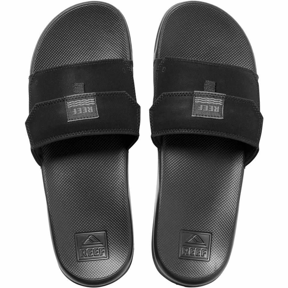 リーフ Reef メンズ サンダル シューズ・靴 Stash Slide Sandals Black BlackN80wmvn