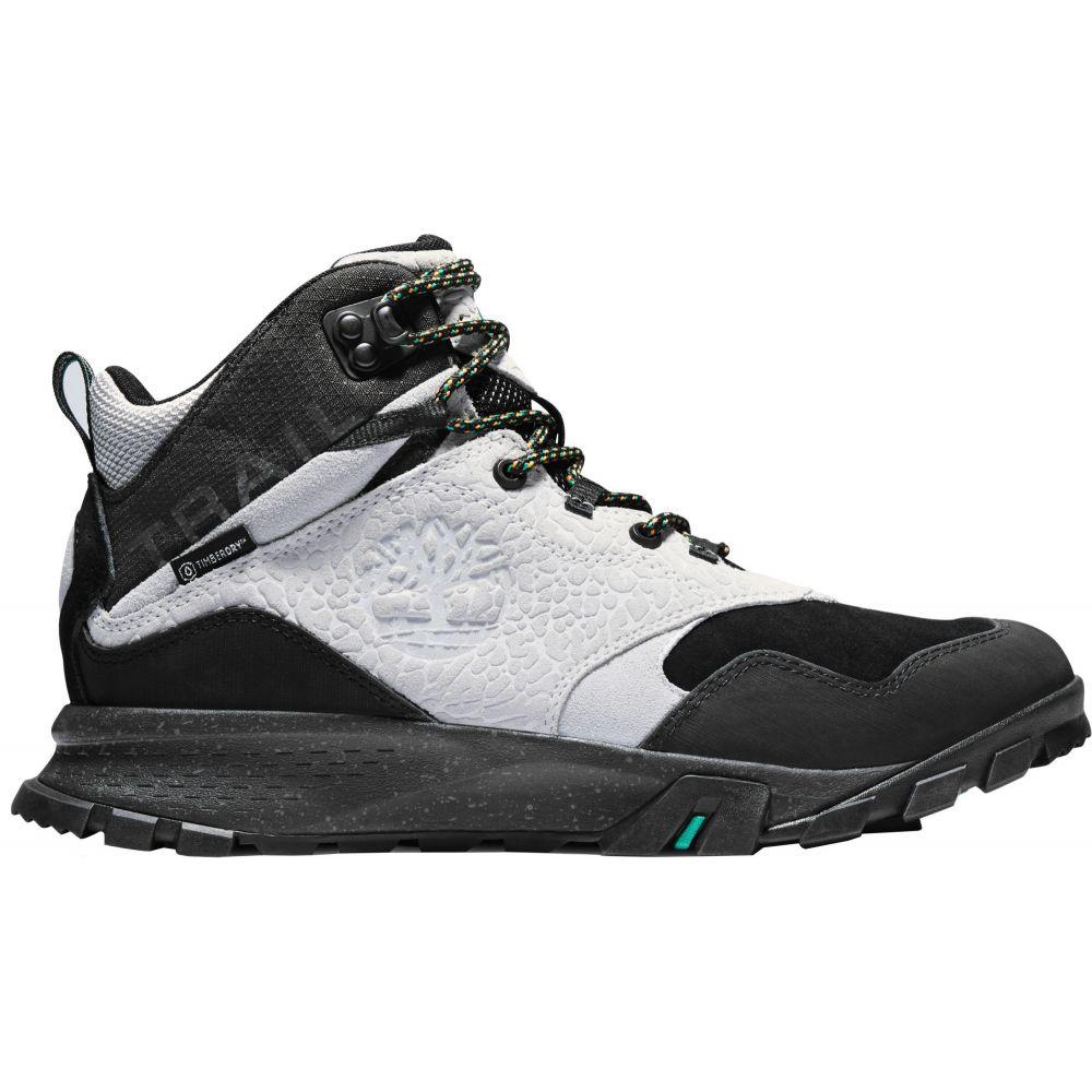 ティンバーランド Timberland メンズ ハイキング・登山 シューズ・靴【Garrison Trail Waterproof Mid Hiking Boots】Light Grey