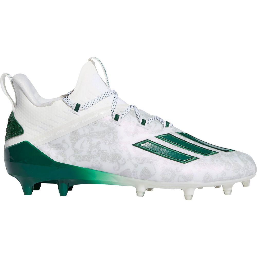 アディダス adidas メンズ アメリカンフットボール シューズ・靴【adizero New Reign Football Cleats】White/Green